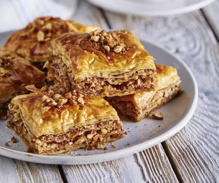 Baklava with Walnuts - Cookidoo® – la plataforma de recetas oficial de  Thermomix®