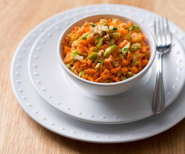 Crunchy carrot salad