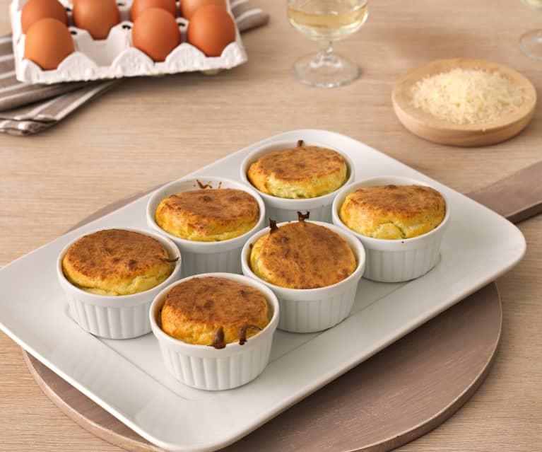Soufflés de queso (sin gluten)