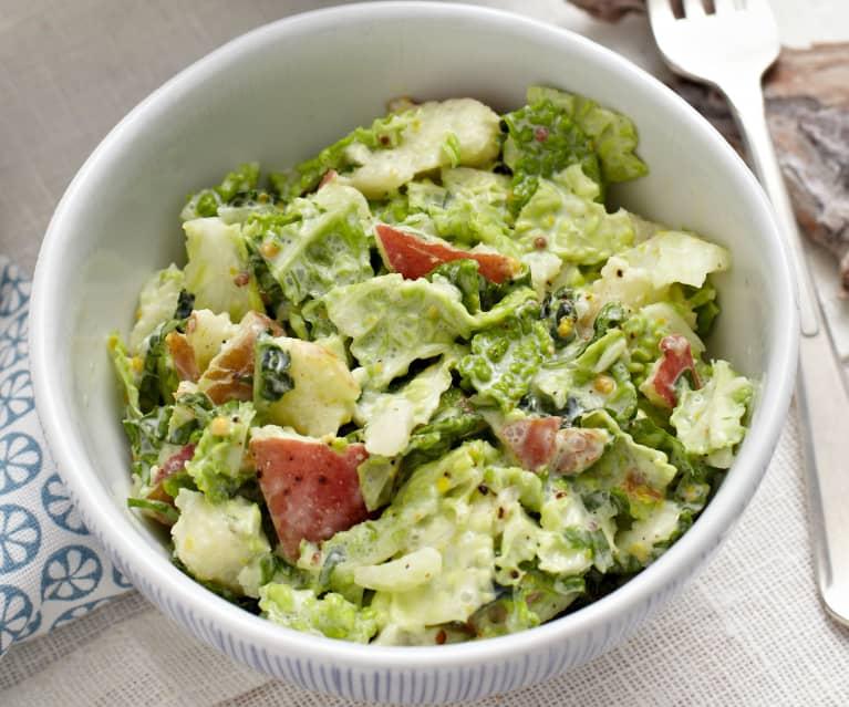 Wirsing-Birnen-Salat