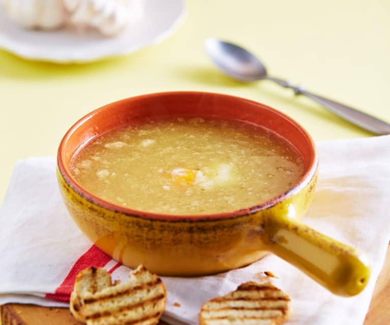 receta sopa de ajo thermomix tm6