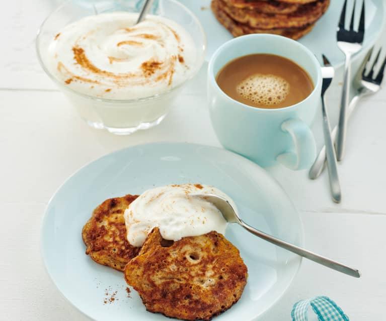 Schoko-Erdbeer-Pancakes