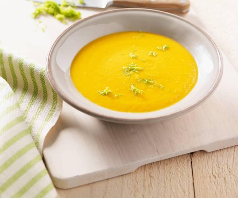 Süßkartoffel-Fenchel-Creme-Suppe