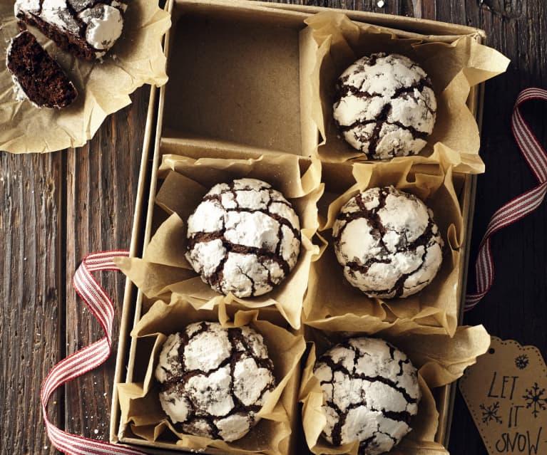 Boules de neige au chocolat