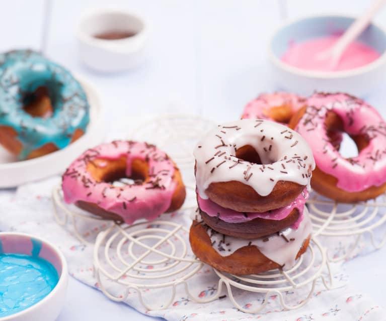 """Amerykańskie pączki """"donuts"""""""