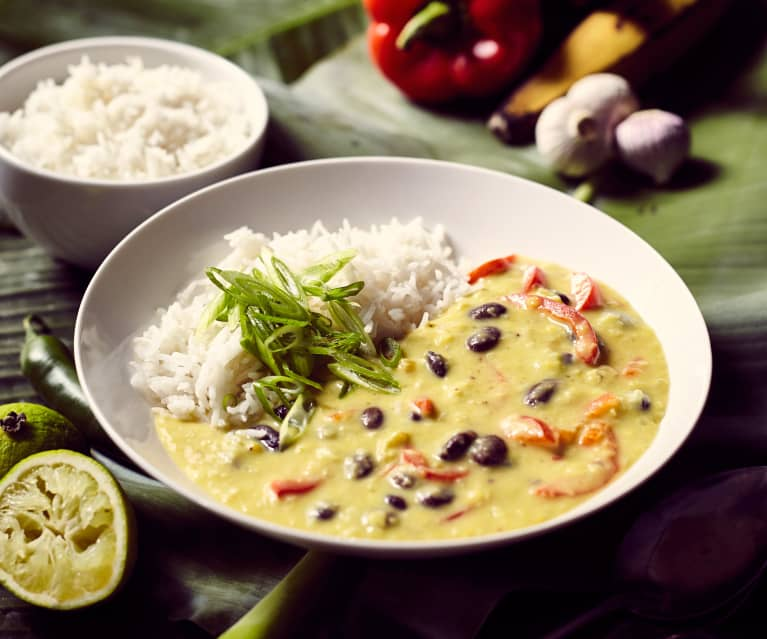 Kochbananen-Eintopf
