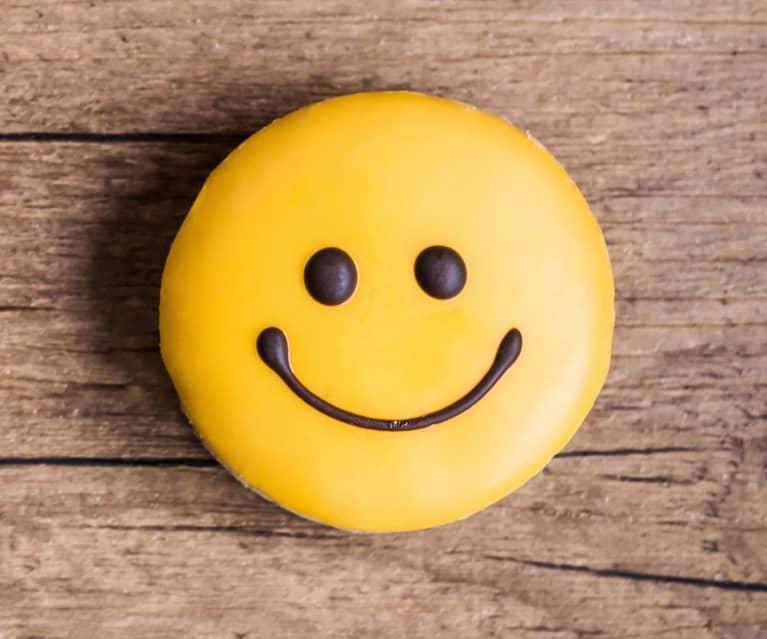 Galletas emoticono feliz