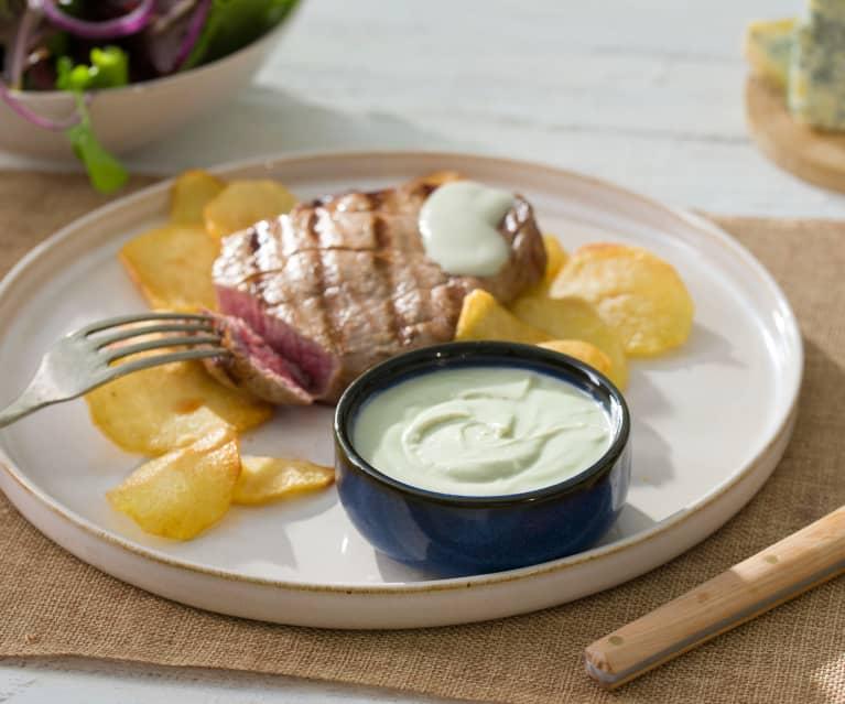 Solomillo de ternera al queso Picón Bejes-Tresviso