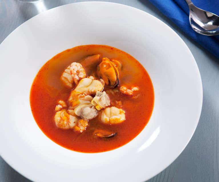 Sopa De Pescado Cookidoo La Plataforma De Recetas Oficial De Thermomix