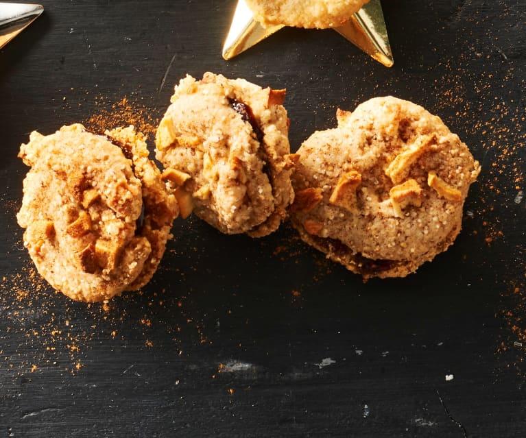 Apfel-Zimt-Cookies