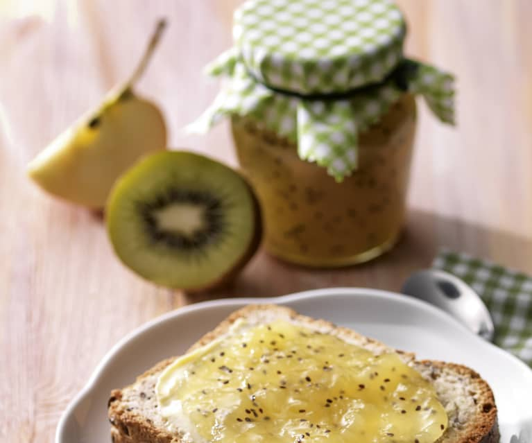 Apple and Kiwi Jam