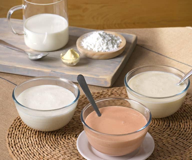 Salsa bechamel y derivadas (sin gluten)