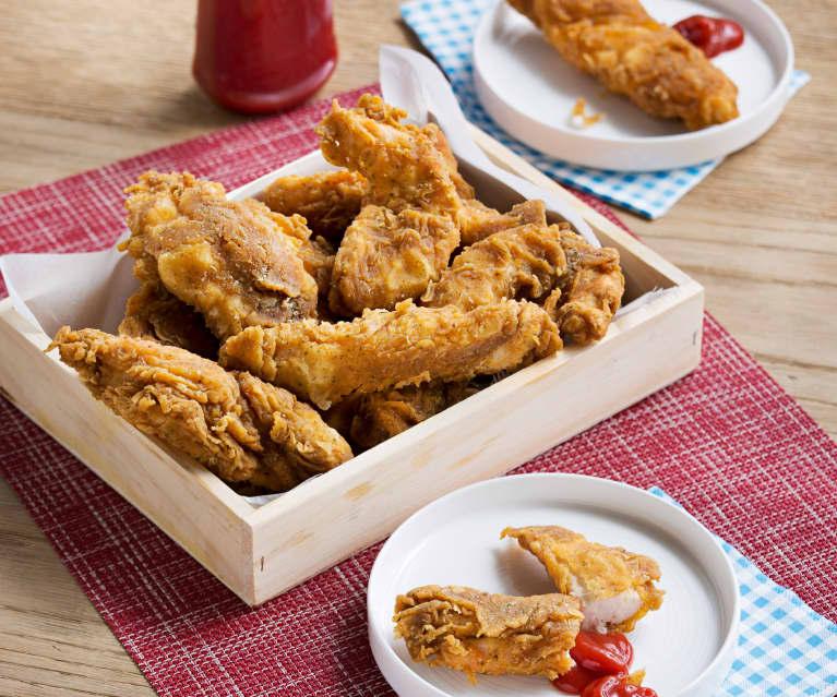 Solomillos de pollo al estilo Kentucky (HESTAN CUE)