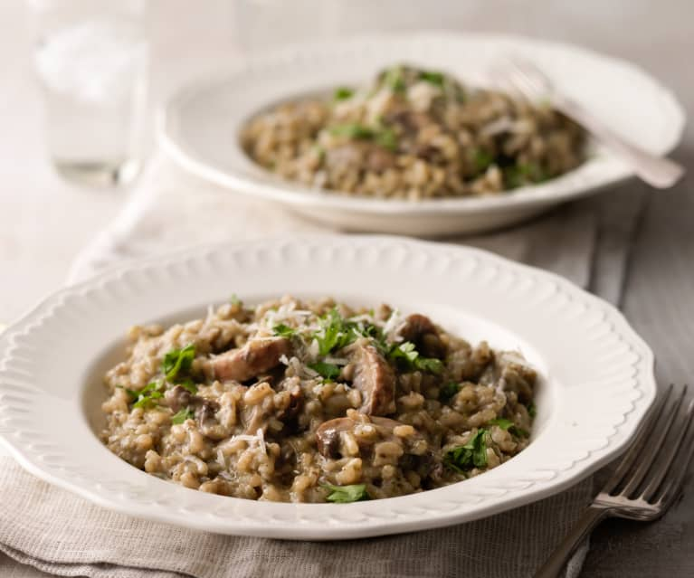 Mushroom Risotto Cookidoo The Official Thermomix Recipe Platform