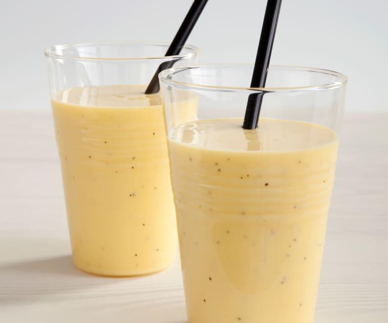Smoothie de maracuyá y mango