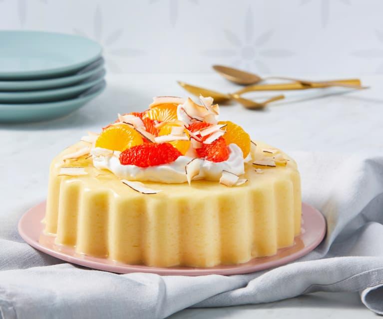 pineapple jello dessert recipes Creamy Orange and Pineapple Jello Mold