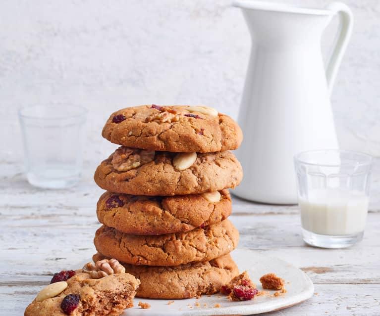 Cookies aux fruits secs