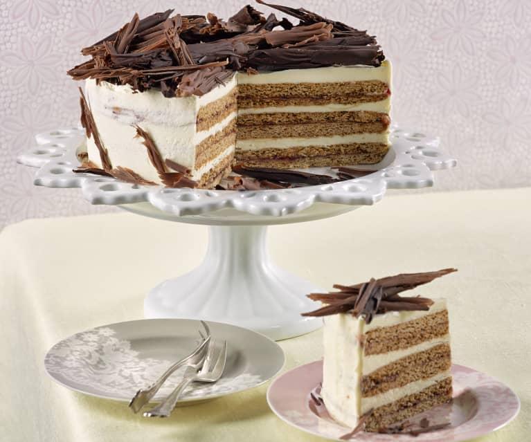 Lebkuchenblätter-Torte