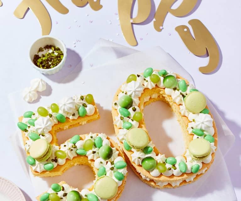 Geburtstags-Numbercake