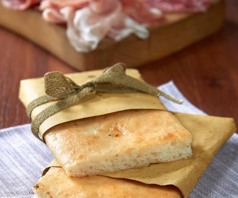 Focaccia rústica sin gluten