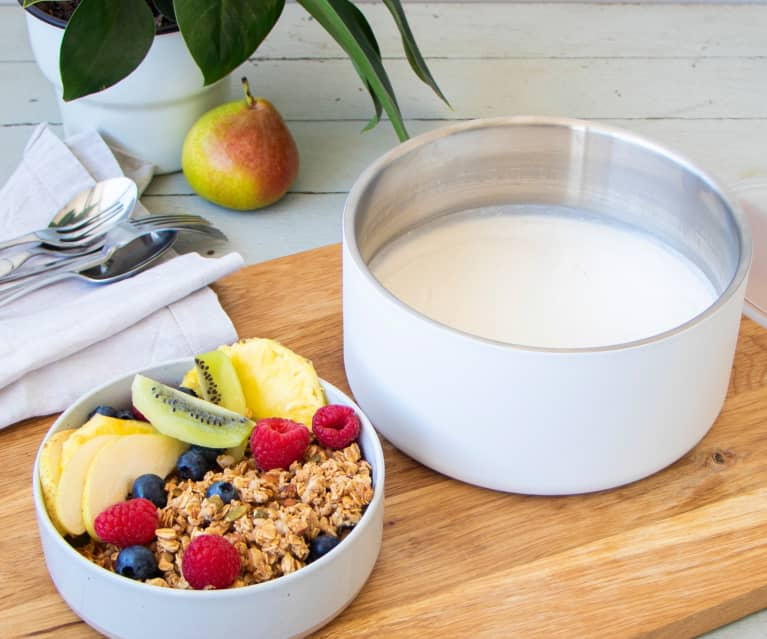 Natural yoghurt (Varoma method)