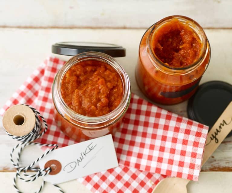 Paprika-Auberginen-Mus