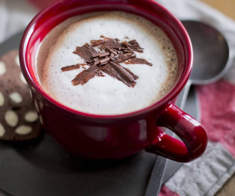 Indulgent hot chocolate