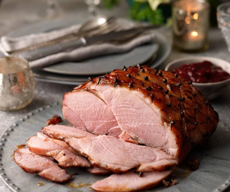 Marmalade-glazed Ham