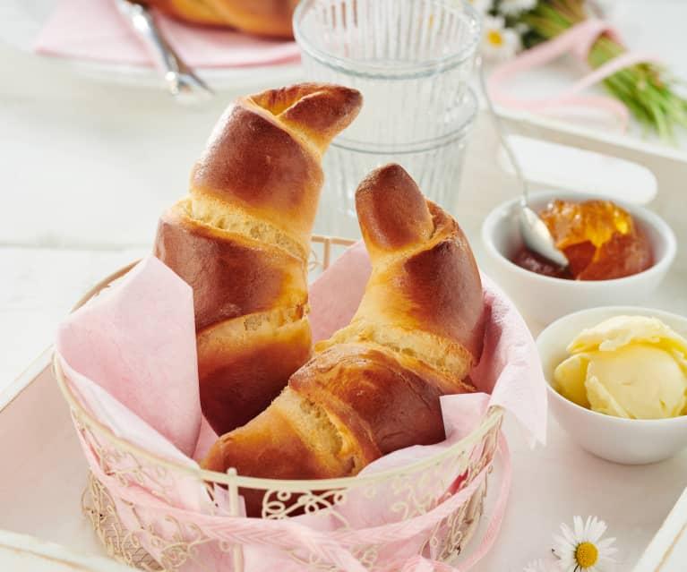 Portugiesische Croissants