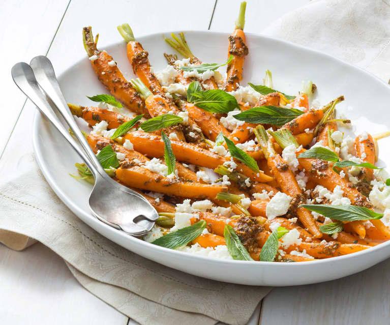 Carrot, Feta and Mint Salad