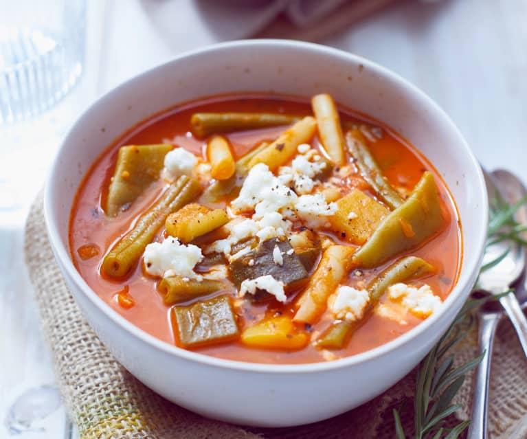 Provenzalischer Bohnen-Tomaten-Topf