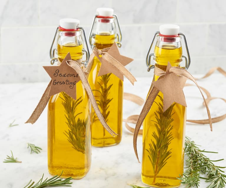 Lemon Rosemary Infused Oil