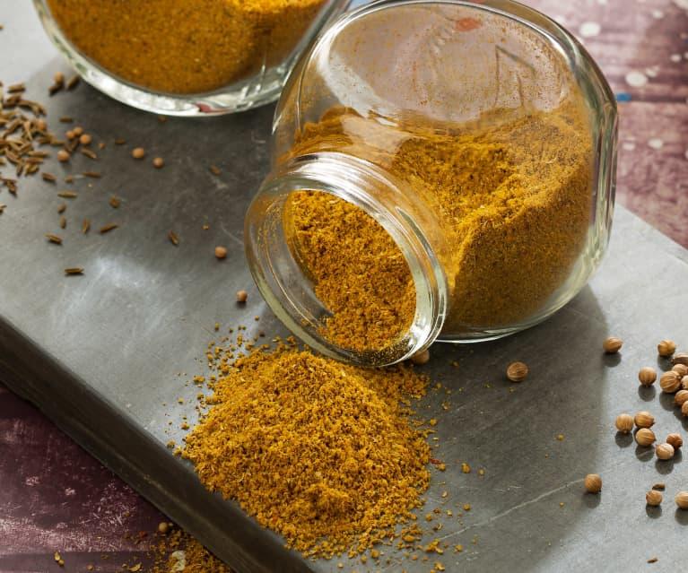 Curry en polvo - Subcontinente indio