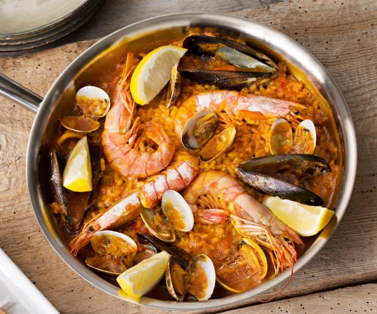 Paella mixta (HESTAN CUE)
