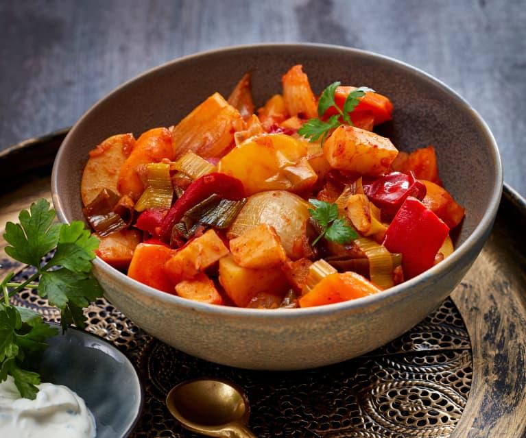 Orientalisches Ofengemüse