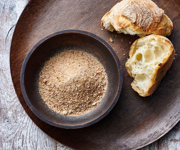 Pan molido fino