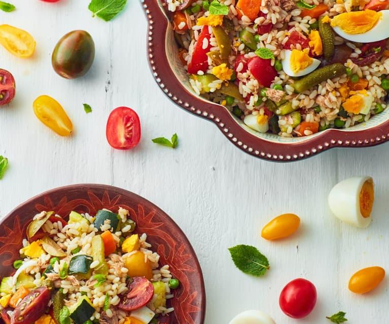 Colourful Tuna Rice Salad