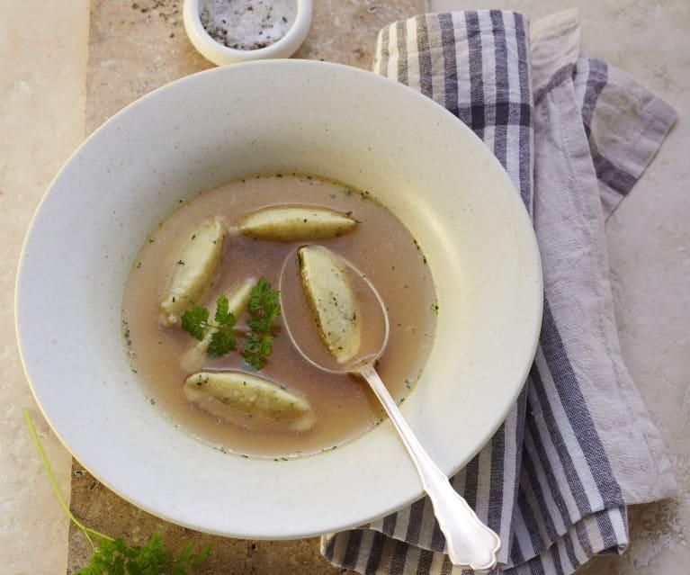 Grießklößchen (Suppeneinlage)