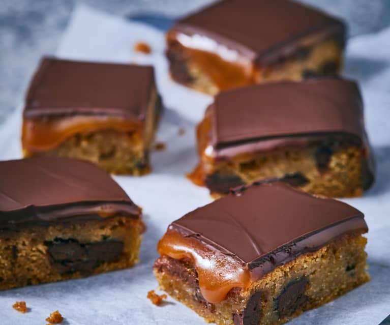 Salzkaramell-Cookie-Bars