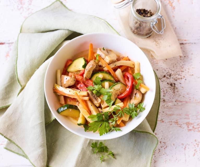 Pilz-Gemüse-Topf