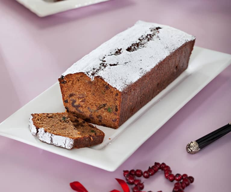 Cake especiado de Navidad