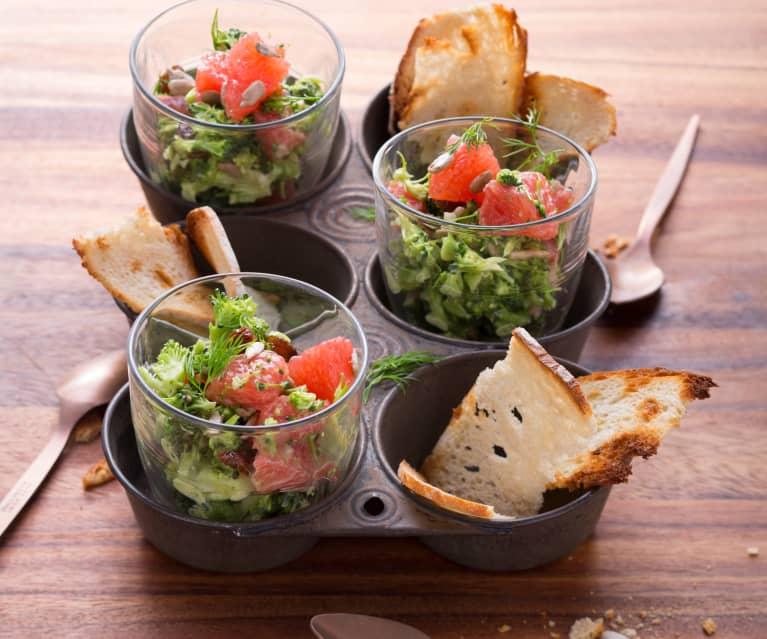 Brokkoli-Grapefruit-Salat