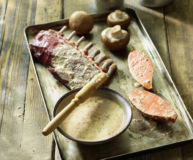 Grillmarinade zu Lamm, Geflügel und Gemüse