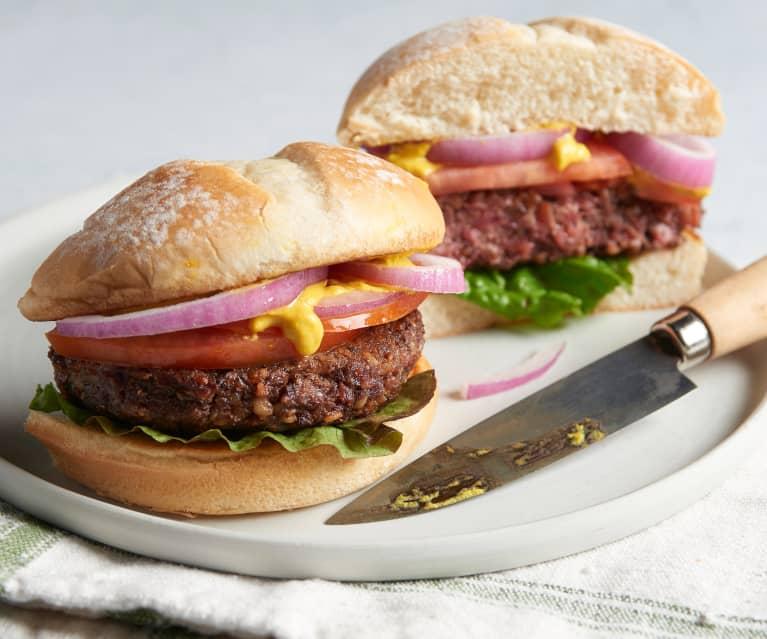 Vegan 'Beefy' Burger
