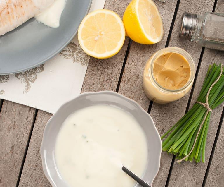 Salsa de limón para carnes blancas