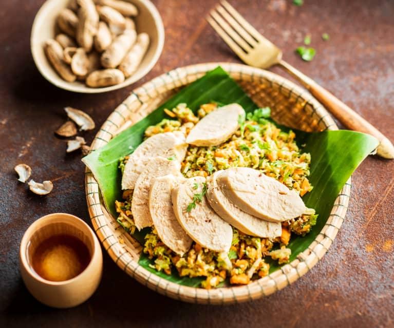 Laab kai (Salade au poulet)