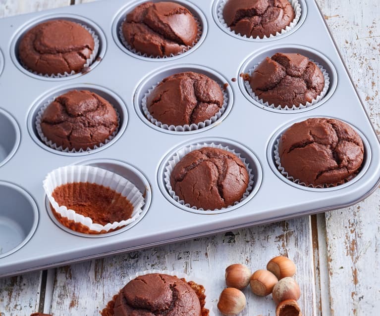 Muffins choco-noisettes