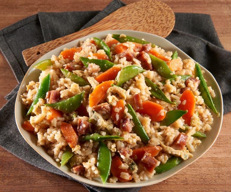 Asian-Style Sautéed Rice