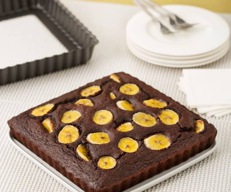 Brownies de avena y calabaza