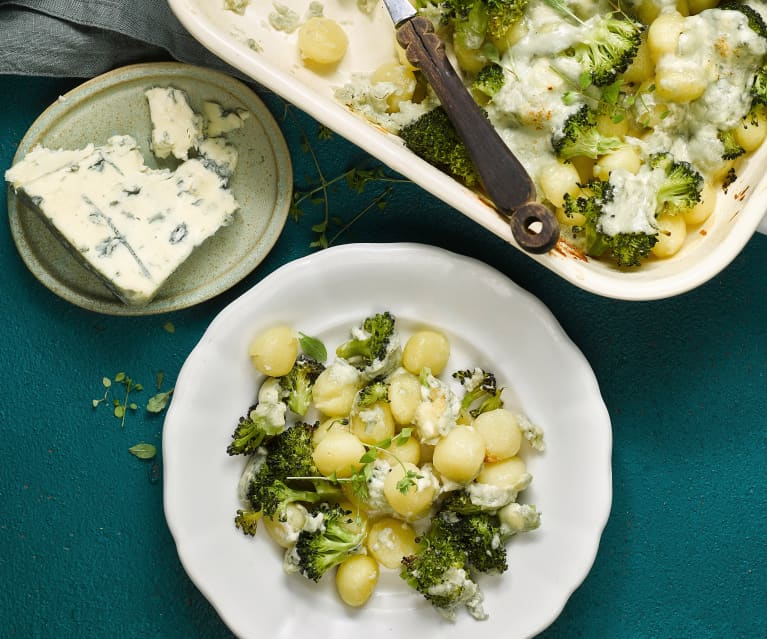 Gnocchi au brocoli et bleu
